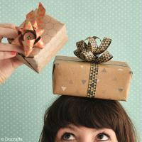 DIY Paquets cadeaux géométriques à faire soi-même