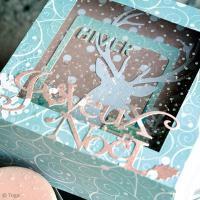 Boîte cadeau Vitrine de Noël