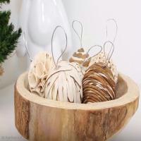Tuto Déco : Décorations fait-main pour un Noël authentique et nature