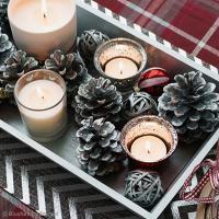 DIY Facile : Centre de table festif