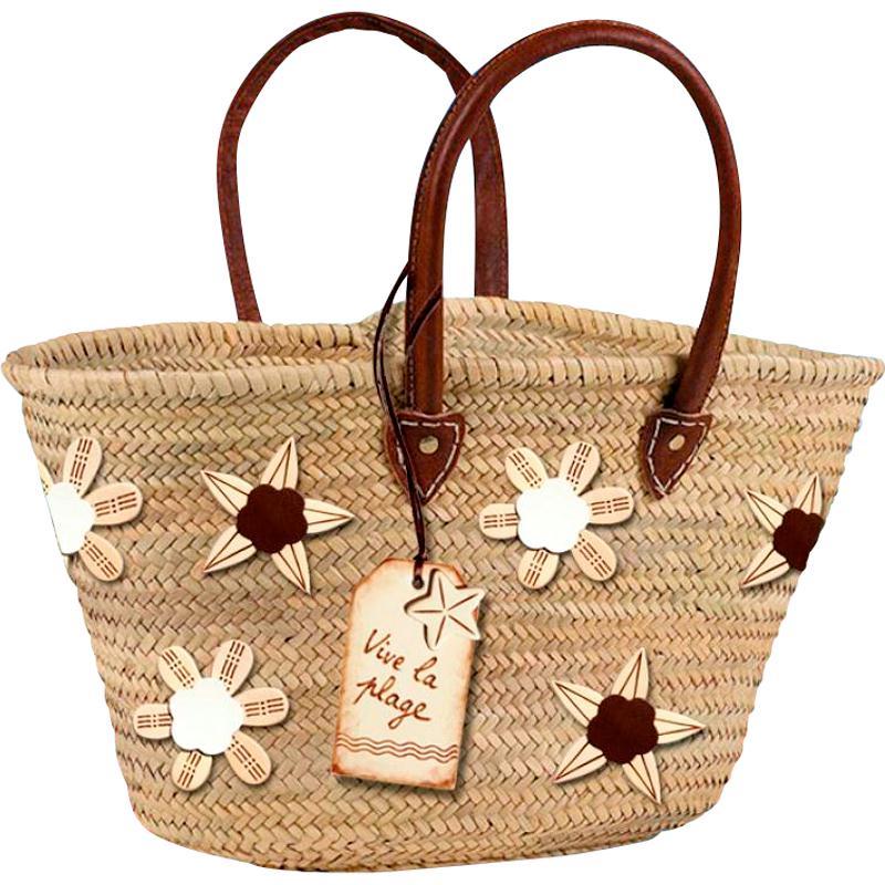 sac de plage customis avec embellissements cuir v ritable et pyrogravure id es conseils et. Black Bedroom Furniture Sets. Home Design Ideas