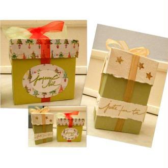 Realiser des boîtes cadeaux pour Noel ou toute autre occasion