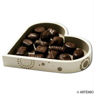 Chocolats et boite chocolats pour la Saint Valentin