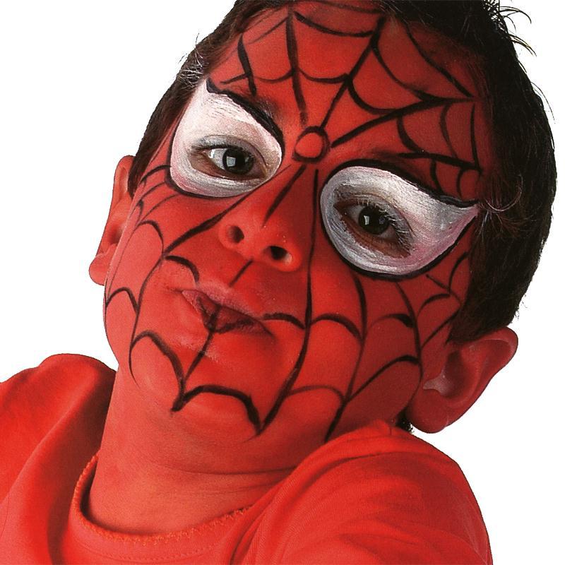 maquillage spiderman id es conseils et tuto maquillage. Black Bedroom Furniture Sets. Home Design Ideas