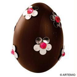 Oeuf chocolat printanier