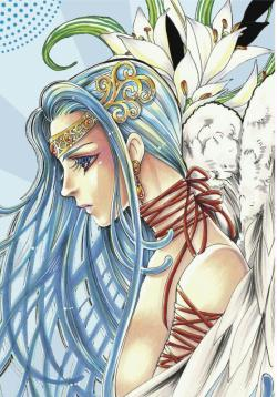 1. Dessin manga au Promarker