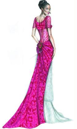 7. Le dessin avec Promarker: design de mode
