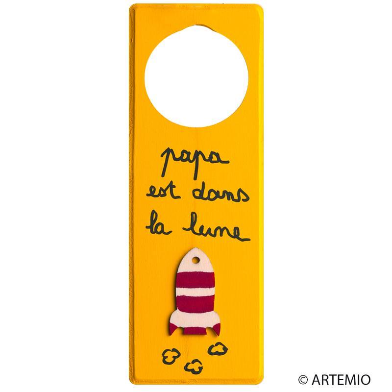 D corer des grooms de porte pour la f te des p res id es conseils et tuto f - Bricolage accroche porte ...