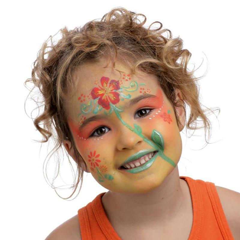 maquillage enfant fleur pour carnaval id es conseils et tuto maquillage. Black Bedroom Furniture Sets. Home Design Ideas