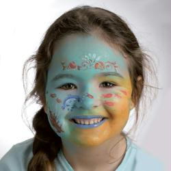 3. Terminer le maquillage de Sirène