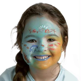 Maquillage facile enfant Sirène