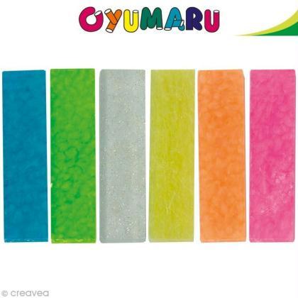 Apprendre utiliser la p te oyumaru cr ation d 39 un moule or o id es c - Comment utiliser la pate a bois ...