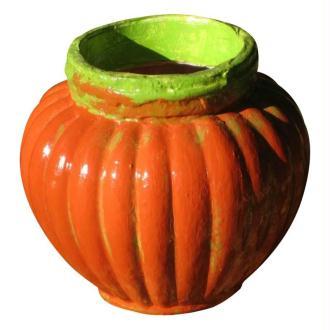 Un vase citrouille pour Halloween