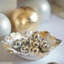 4. Garnir la coupelle de Noël