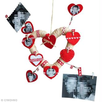 Couronne de Saint Valentin personnalisable