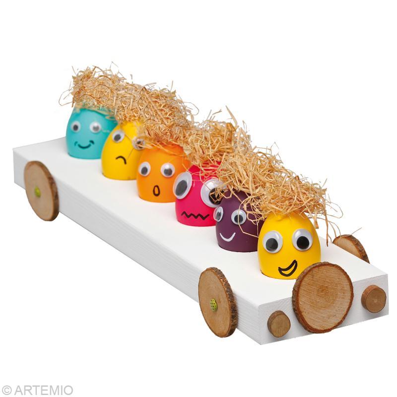 Bricolage de p ques oeuf de p ques dr le id es - Decoration oeufs de paques maternelle ...