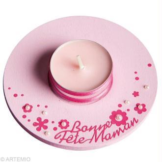 Fête des mères Cadeau Bougeoir