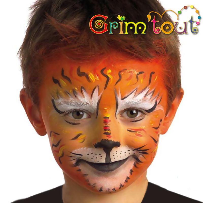Maquillage Tigre  Tutoriel en Vidéo