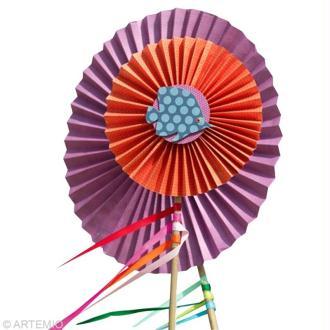 Fabriquer une fleur en papier pour la plage
