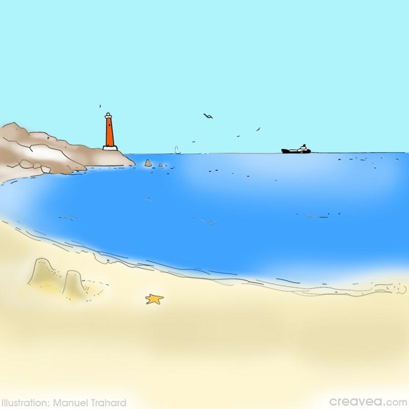 Coloriage Vacances A La Mer Idees Conseils Et Tuto Coloriage