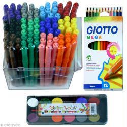 1. Coloriage gratuit rentrée scolaire: le stylo