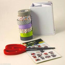 1. Matériel pour customiser un pot à crayons