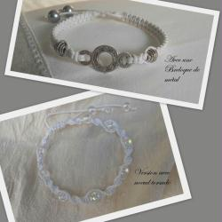 9. Deux variantes de bracelets Shamballas