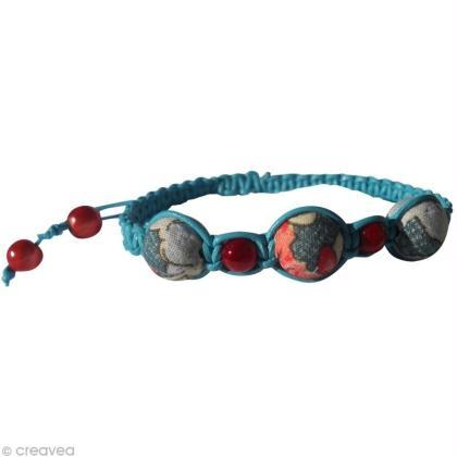 Faire un bracelet Shamballa (technique du macramé)