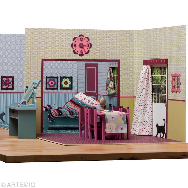 D corer une maison de poup e barbie id es conseils et - Fabriquer album photo maison ...