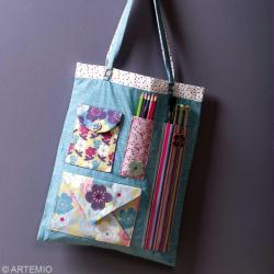 2. Eléments du sac en tissu
