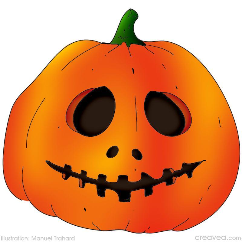 Coloriage halloween id es conseils et tuto coloriage - Citrouille halloween dessin couleur ...