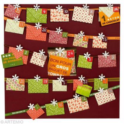 r aliser un calendrier de l 39 avent 2012 id es conseils et tuto calendrier de l 39 avent. Black Bedroom Furniture Sets. Home Design Ideas