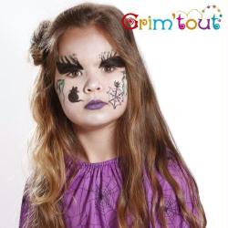 maquillage de sorci re pour halloween id es conseils et tuto maquillage. Black Bedroom Furniture Sets. Home Design Ideas