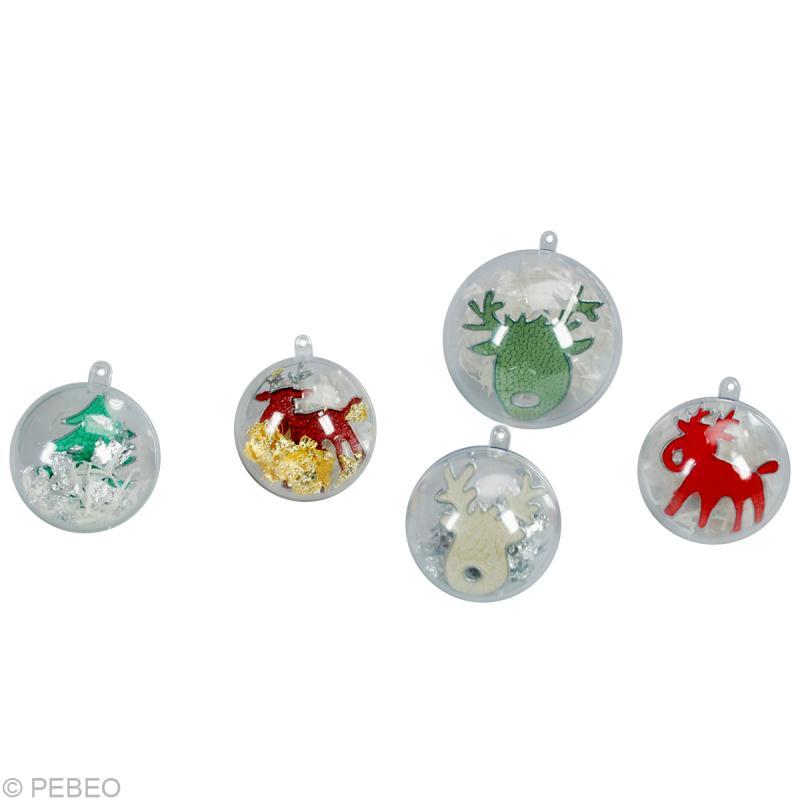 Boule De Noel A Fabriquer Idees Conseils Et Tuto Boules De Noel