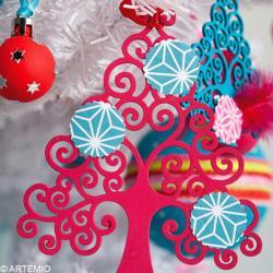 3. Décoration de sapin de Noël terminée