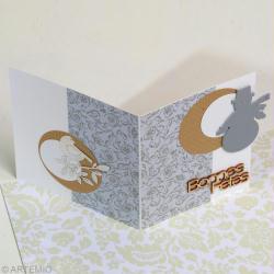 3. Création d'une carte de table de Noël Zen