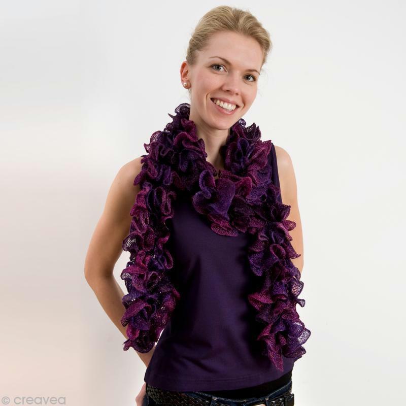 3b5a68f20155 Tricoter la laine froufrou Cancan - Idées conseils et tuto Crochet et tricot