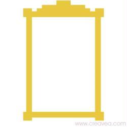 5. Gabarit de cadre carré simple