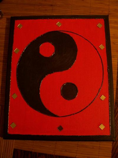 Ying et yang cr ation home d co et miroir de aline 01 n for Deco ying yang