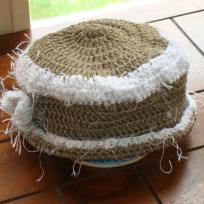 Petit chapeau d'été pour fillette