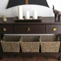 Table console en carton