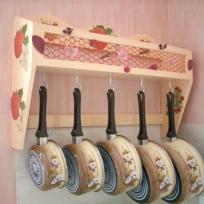 étagère à casseroles