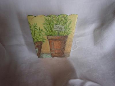cache pot herbes cr ation serviettes en papier de titia n 2 117 vue 2 523 fois. Black Bedroom Furniture Sets. Home Design Ideas