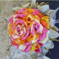 Bouquet de mariée technique glamelia