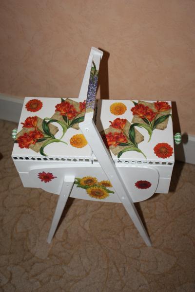 boite couture en serviette en papier cr ation serviettes en papier de ingrid7845 n 23 997. Black Bedroom Furniture Sets. Home Design Ideas