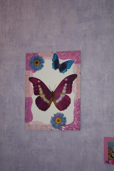 tableau papillon cr ation stickers muraux de ingrid7845 n 24 051 vue 3 232 fois. Black Bedroom Furniture Sets. Home Design Ideas