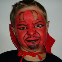 Maquillage de diable