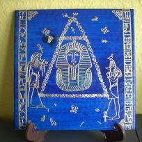 Plaque égyptienne