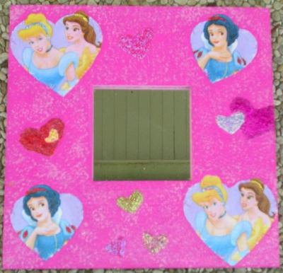 Miroir princesses cr ation serviettes en papier de for Miroir princesse