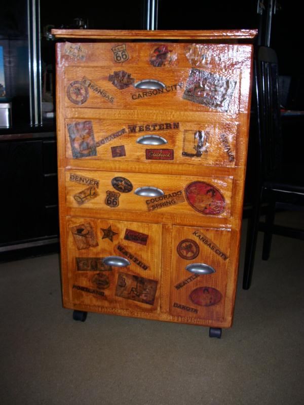 Meuble en carton country cr ation meuble en carton de marjorie3824 n 27 993 - Meuble payable en plusieur fois ...